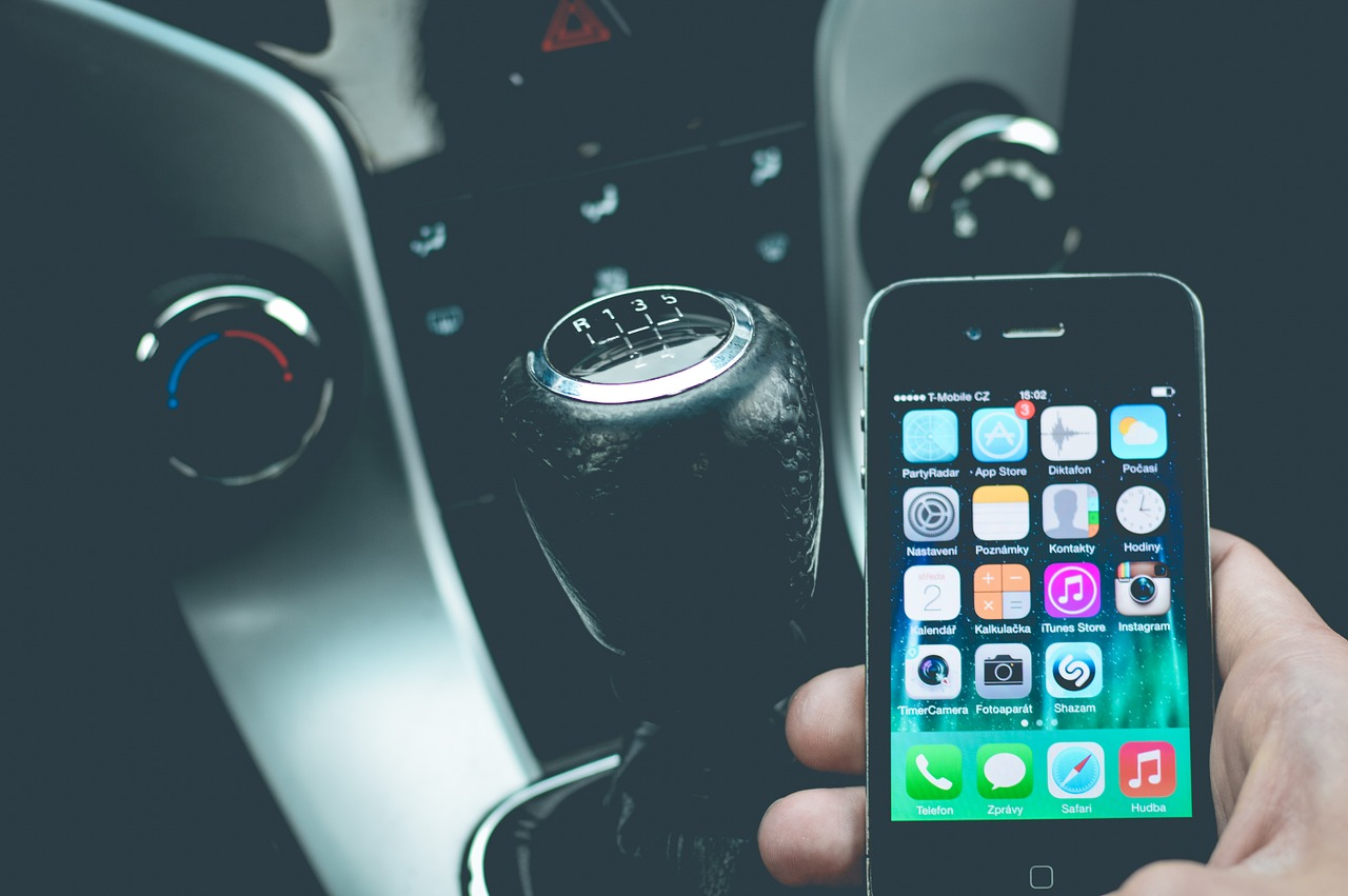 Phone whilst driving